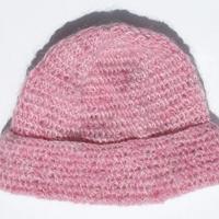 mohair hatt