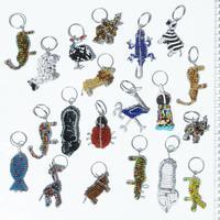 Metall nyckelringar