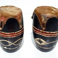 Grandes tambores africanos