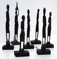 African tribal statues