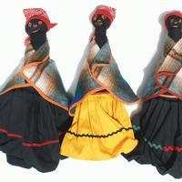 Groß afrikanischen Puppen